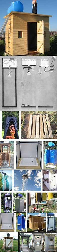 Как своими руками самому построить дачный туалет и душ на приусадебном участке. Основные методики возведения и конструкции душевых кабин и туалетов на даче, которые можно сделать самостоятельно - Ремонт и дизайн дома своими руками