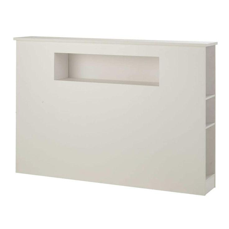 Wit houten hoofdeinde L 140 cm Tonic | Maisons du Monde