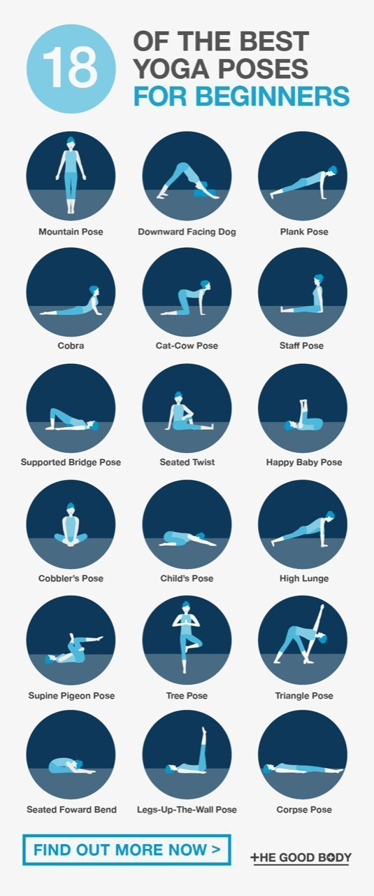 The Best Yoga Poses For Beginners: 18 Simple Asanas To Try (Today!) – Marijana Kostan