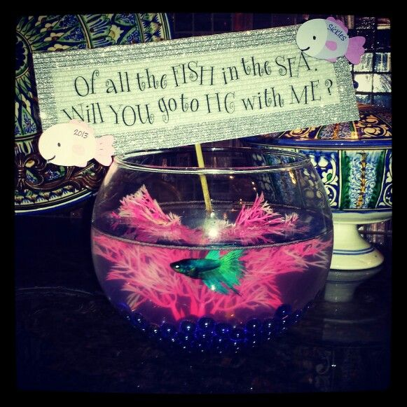 Cute homecoming invite idea! | For the Girls | Pinterest ...