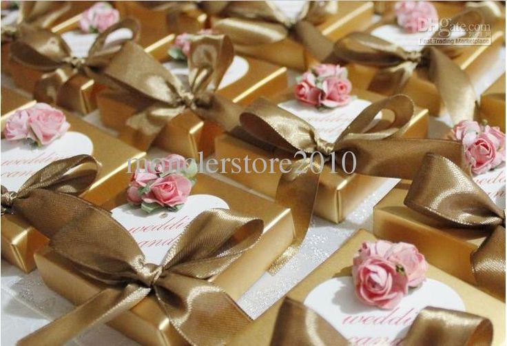 gold+wedding+favors | ... rose Wedding Candy Bags /Box,Wedding Gifts Packing ,wedding favors