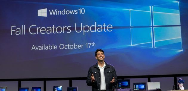 Microsofts Windows 10 Fall Creators Update will arrive Oct. 17 minus ambitious Timeline feature