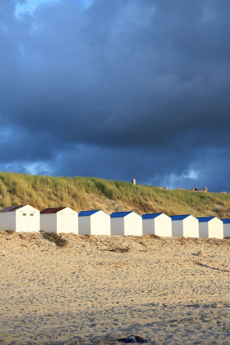 Strandhuisjes, De Koog, Texel, Noord-Holland.