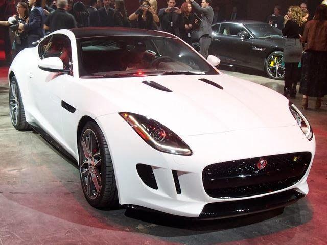mobil mewah jaguar F-TYPE Coupe