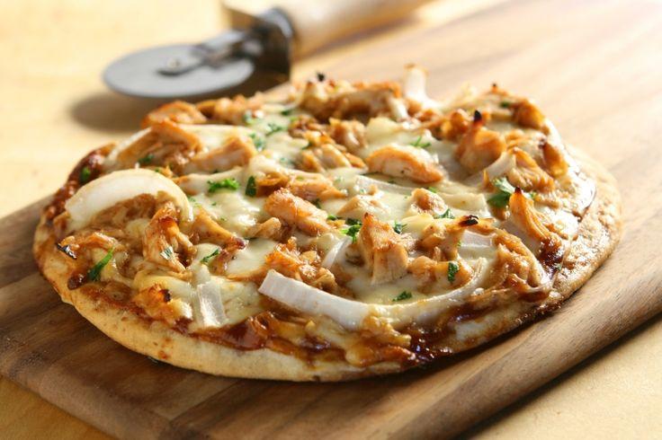 Pizza au poulet Buffalo et miel...Un vrai délice