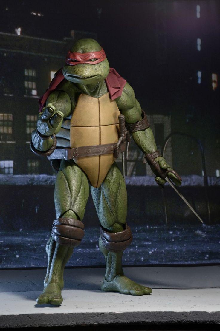 NECA TMNT Raphael Teenage Mutant Ninja Turtles 1/4 Action Figure