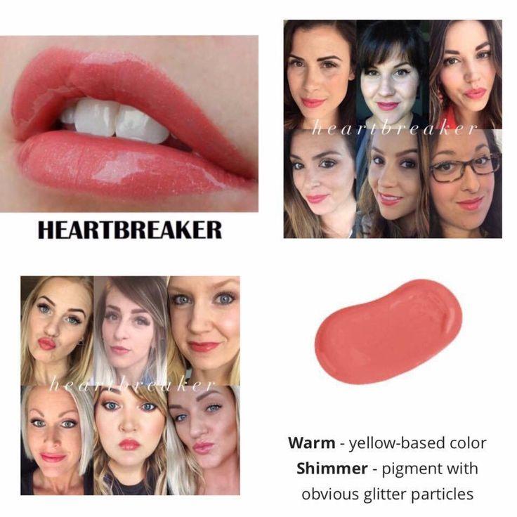Heartbreaker LipSense color.