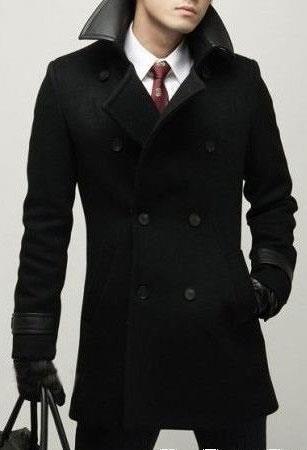 Стильное мужское пальто италия