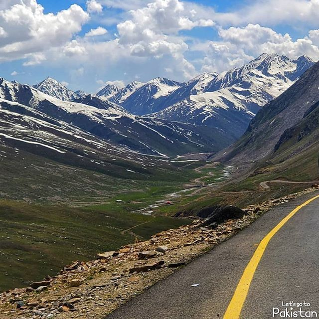 Road To Heaven Details Babusar Pass Or Babusar Top Is A