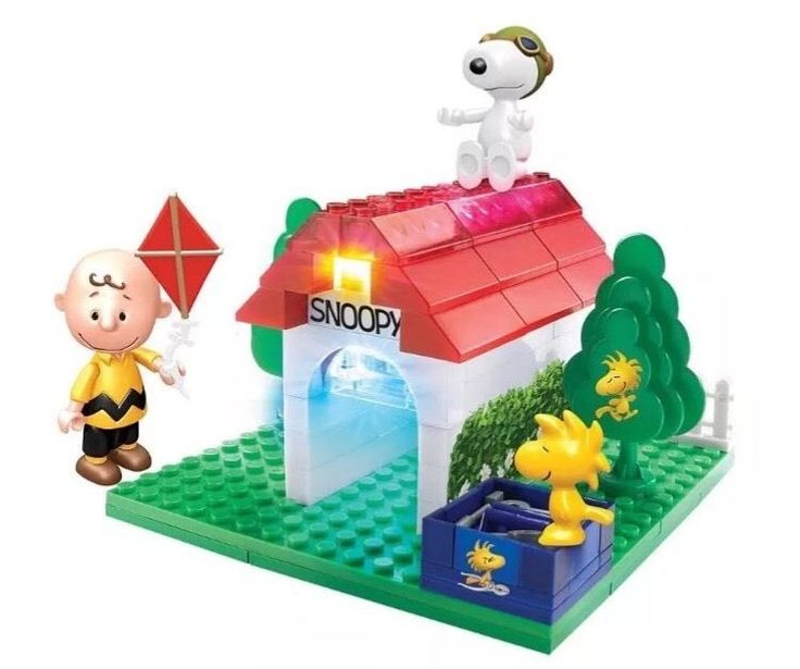 Peanuts Movie Lite Brix Flying Ace Snoopy Lego Compatible 57024 | eBay