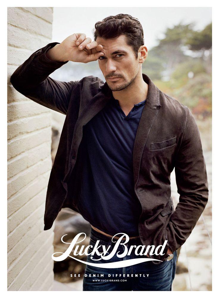 David Gandy for #Lucky #Brand, get #Lucky @designerstudiostore.com…