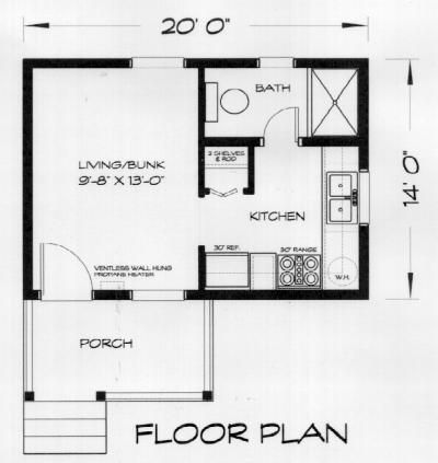 36 best images about house plans on pinterest one for Backyard cottage floor plans