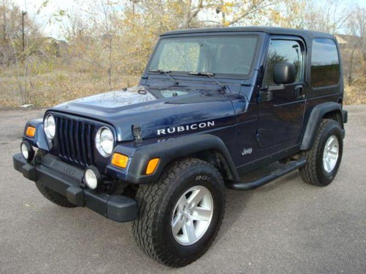 jeep wrangler used black rubicon