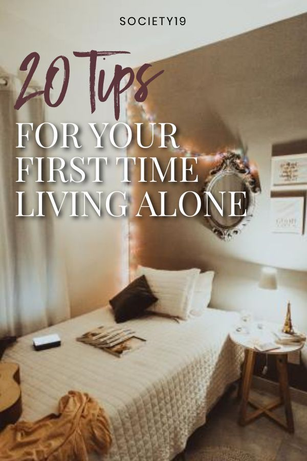 Living Alone For The First Time