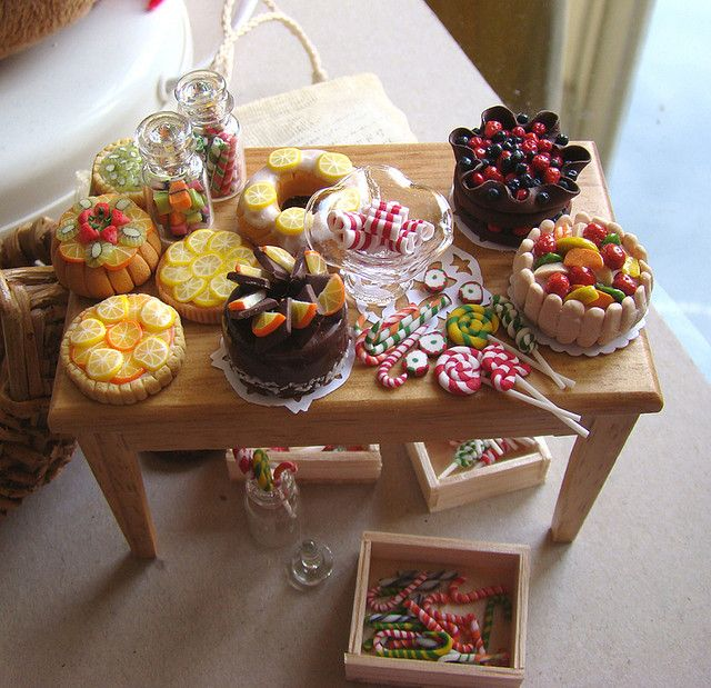 Dollhouse Miniature Food 1:12 by PetitPlat - Stephanie Kilgast, via Flickr