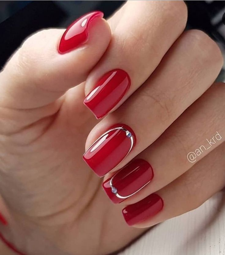 100+ Lovely Early Spring Short Nails Art Design And Colors Ideas –  – God Is A G…