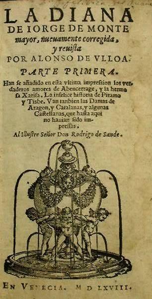 "La novela del género pastoríl ""La Diana"" de Jorge de Montemayor (1520-1561)"