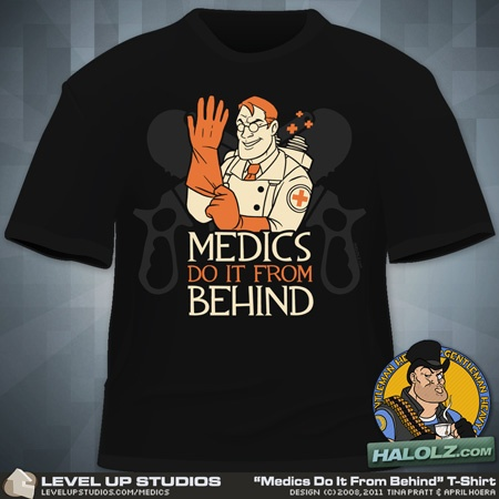 Medics Do It From Behind. $17.99