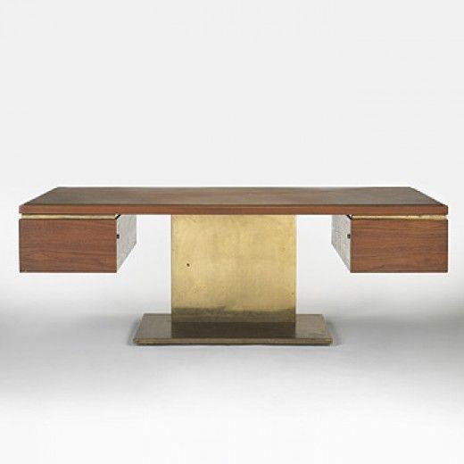 155: Warren Platner / executive desk < Modern + Contemporary Design, 28 March 2006 < Auctions | Wright