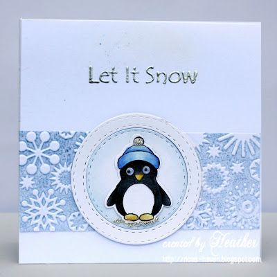 Adorable card by Heather using Simon Says Stamp Exclusives.