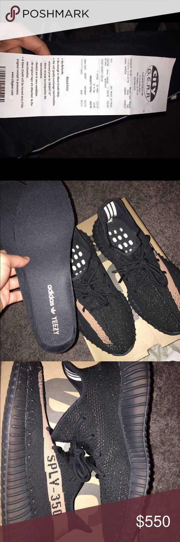 Yeezy v2 copper Condition 9/10 let me know if you need more pics, etc. 100% authentic just don't fit me so no point of keeping them. I can lower the price if we go through PayPal! Adidas Shoes Sneakers
