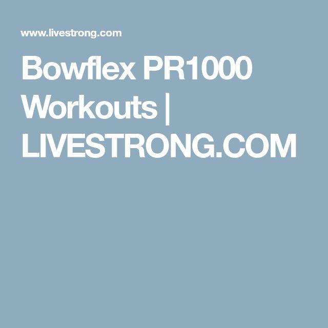 Livestrong Treadmill Lubrication Instructions: Best 25+ Bowflex Workout Ideas On Pinterest