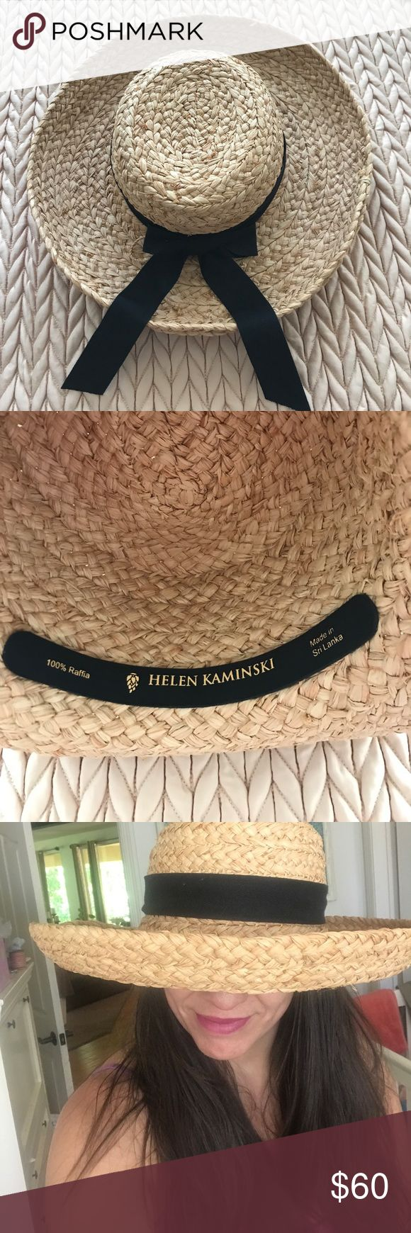 "Helen Kaminski Raffia Hat Helen Kaminski 14"" hat made of braided raffia. 48"" circumference with 4 1/2"" brim. Helen Kaminski Accessories Hats"