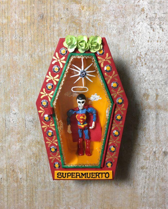 Cercueil Super Muerto Cercueil Fete Des Morts Mexique Artisanats Mexicains