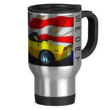 2010 Corvette Grand Sport Convertible Travel Mug