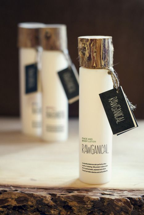 "Student package design ""Rawganical""  -     Designed by Casper Holden, Randi Sjælland Jensen and Ingeborg Lund at Skolen for Visuel Kommunikation, Denmark."