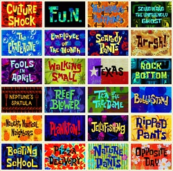 The best Spongebob episodes there is! :)