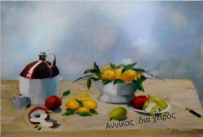 Oil painting... Λάδι σε καμβά