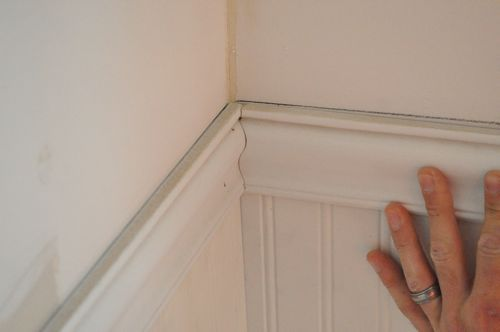 This is an incredible step-by-step tutorial on how to put up Wainscoting.