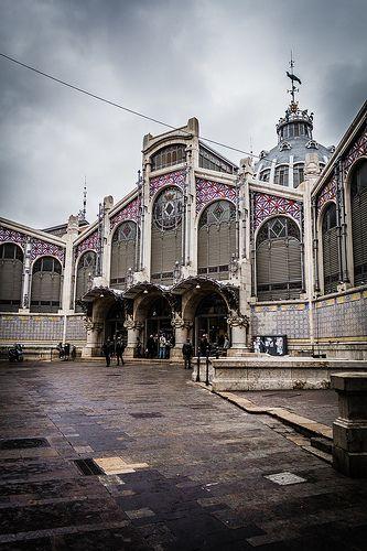 Central Market in Valencia, Spain