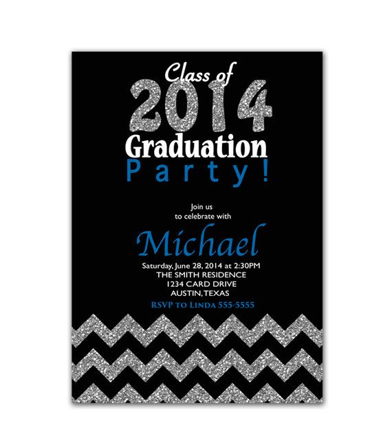 1000 images about 2k16 – Graduation Invitations 2015