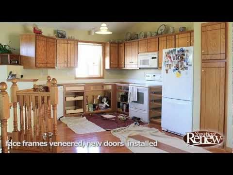 A Full Kitchen Remodel In 2 1/2 Days! Renew Cabinet Refacing Makes