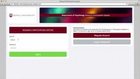 Sona Systems - Participant Tutorial