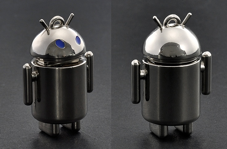 """USB Flash Drive """"Anoid"""" - 32GB, Metal Android Design: Wholesale Usb, Android Usb, Usb Flash Driving, Usb Flash Drive"""