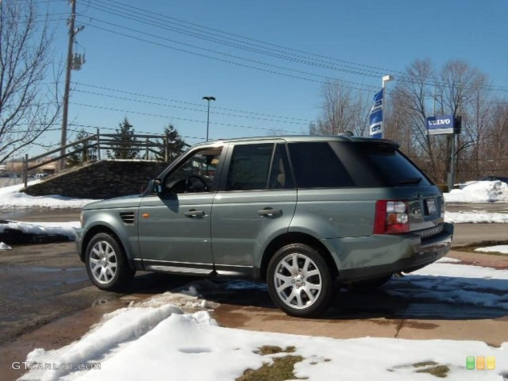 2007 Range Rover Sport HSE Giverny Green Metallic