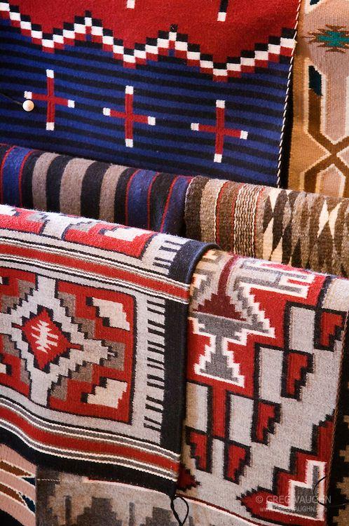 Navajo Blankets At Hubbell Trading Post National Historic