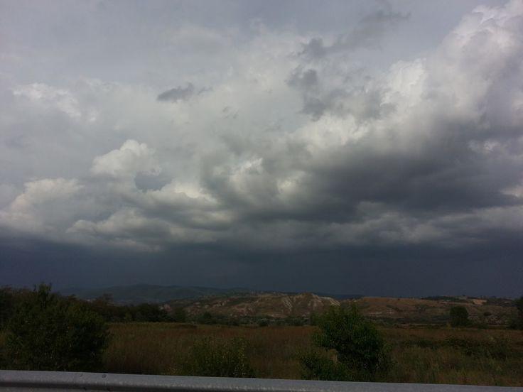 19 agosto 2016. Somewhere in Umbria. Ore 17.32