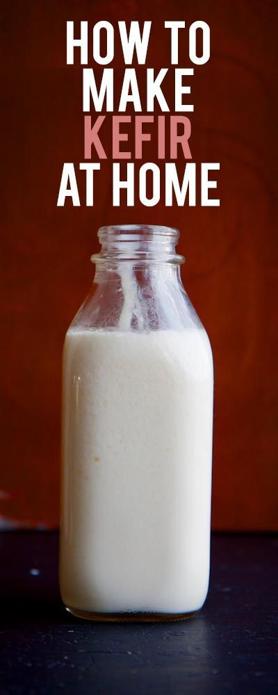 Stop buying the expensive kefir from the store and learn how to make kefir at home with this easy tutorial.