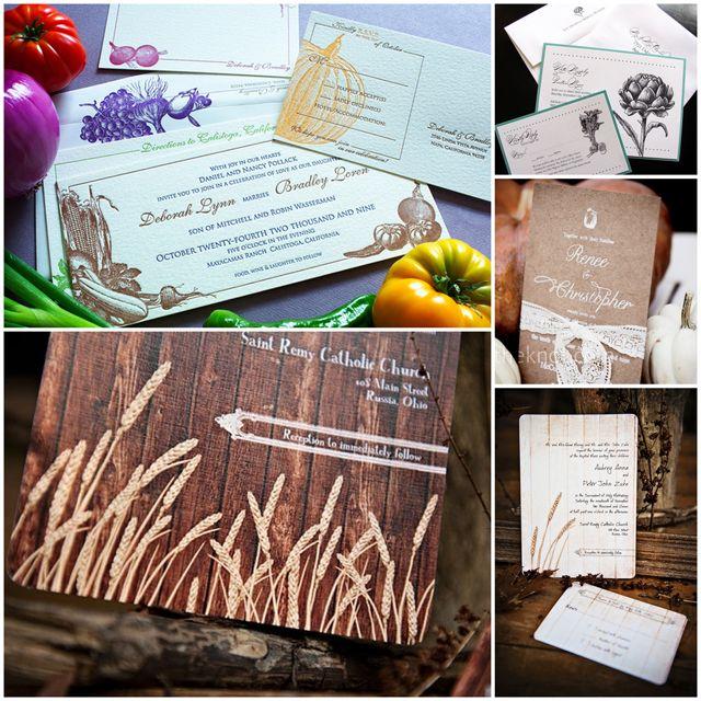 Стиль: «Деревенская» свадьба   Herbal Verbal