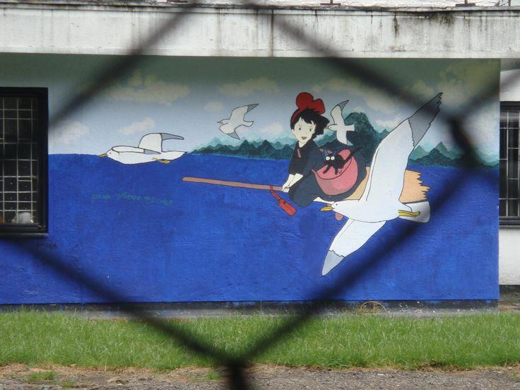 kiki Grafitti en Bogotá by DJ Mitsu
