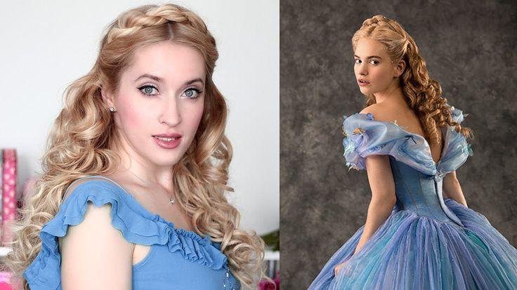 Cinderella hair tutorial  ♥ Prom/wedding hairstyle for long hair