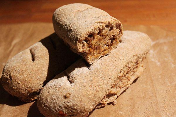 Green Food: Pão Integral com Chouriço Vegetal