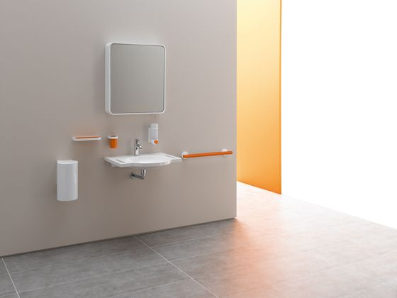 Paper Roll Holders | Toilets | System 800 K | HEWI | NOA Design. Check.