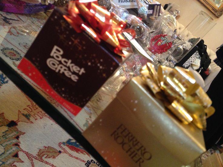 pacchetti natalizi di dolcezze...