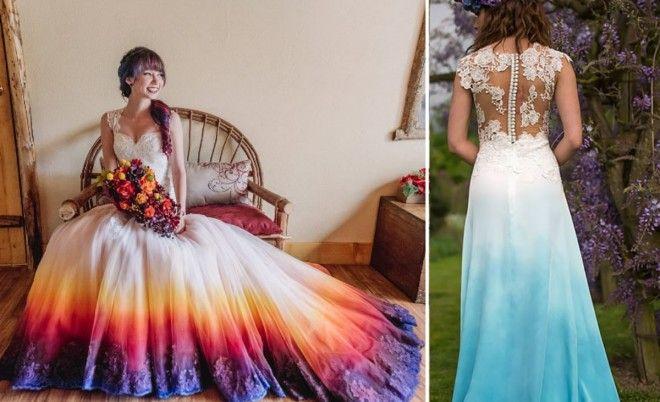 ORIGINÁLNÍ: Tyto nevěsty se rozhodly pro netradiční svatební šaty, které všem vyrazily dech - Evropa 2