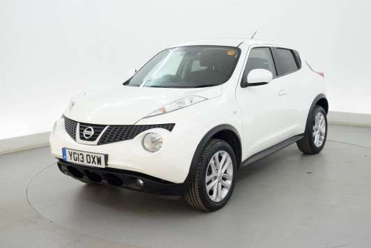 Used 2013 (13 reg) White Nissan Juke 1.5 dCi Acenta 5dr [Premium Pack] - NAV - BLUETOOTH for sale on RAC Cars